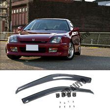 For 97-01 Honda Prelude Smoke Side Window Visors Sun Shade Rain Coupe 2Dr