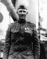 Sergeant ALVIN C YORK Glossy 8x10 Photo Army Military Print World War I Hero WWI
