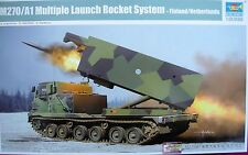 TRUMPETER 01047 M270/A1 MULTIPLE LAUNCH ROCKET SYSTEM 1:35 - FINLAND/NETHERLANDS