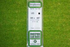 EVERGREEN STRIP STYRENE WHITE Plasticard .020 x .020 #120