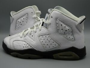 "Jordan Retro 6 ""Alligator"" White/Black-Alligator (BG) (384665 110) SZ 7y"