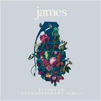 "James - Living In Extraordinary Times (NEW 2 x 12"" MAGENTA VINYL LP)"