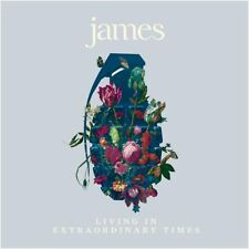 "James - Living In Extraordinary Times (NEW 2 x 12"" MAGENTA VINYL LP)"