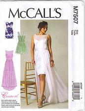 Boned Bodice Sweetheart Neck Dress Wedding Formal Sewing Pattern 6 8 10 12 14