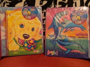 Lisa Frank Happy 30th Birthday Binder Bundle Folder Notebook Dolphin Unicorn 🦄
