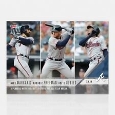 2018 TOPPS NOW #413 3 PLAYERS WITH 100+ HITS BEFORE THE ALL-STAR BREAK