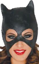 Maschere nero senza marca latex per carnevale e teatro