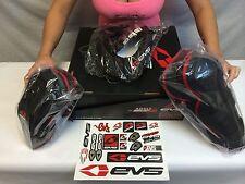 ADULT EVS Slam Combo 2 Neck Collar, Elbow Pads & Knee Pads bmx mx atv offroad