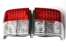 VW Transporter T4 1990-03 Rear Tail Lights / Lamps M3 Style Crystal / Red LED