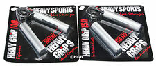 Heavy Grips Hand Grippers POPULAR COMBO HG100-150 NEW Build Grip + Finger Bands