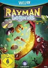 Rayman Legends (Nintendo Wii U, 2014, DVD-Box)  NEU & OVP