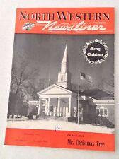 North Western Newsliner Magazine Mr. Christmas Tree December 1950 020117RH