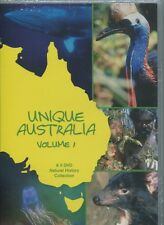 UNIQUE AUSTRALIA - VOLUME 1 on 5 DVD's  - NATURAL HISTORY COLLECTION - BOXED SET