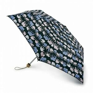 Fulton Eco Planet Umbrella - Marching Elephants - BNWT