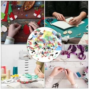 2Bags Confetti Glass Fusing Design Supply Craft Jewelry Glass Pendants Tools
