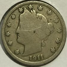 """1911  LIBERTY """"V"""" NICKEL  **SEE PICTURES** NICE COIN -UP FOR BIDS   #127"""