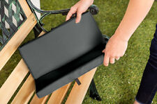 Black 2 Part Portable Seat Pad Thick Living Aid Water Resistant Outdoor Garden