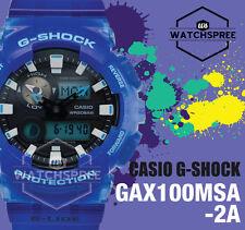 Casio G-Shock G-LIDE Summer Version GAX-100 Series Watch GAX100MSA-2A