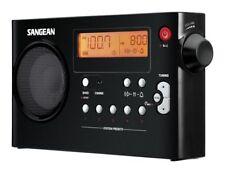Sangean PR-D7 AM/FM Digital Rechargeable Portable Radio - Black  (PR-D7 BK)
