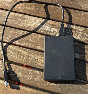 Toshiba 1 TB Externe Tragbare Festplatte 2,5 Zoll USB 3.0 HDD