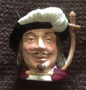 Royal Doulton Miniature Character Jug 'Porthos'  D6516   ETC