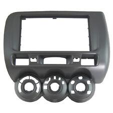 Car Stereo Radio Fascia Panel 2 Din Frame For Honda Jazz Manual A/C Left Wheel