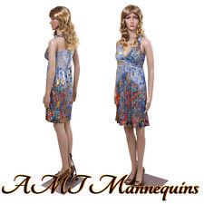 Female mannequin displays ladies sexy dress, jeans, manequin-Mona10+2Wigs