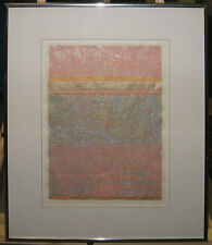 """Patrick Archer '79 Abstract Collage """"Harmonic Variant"""" Listed Florida Artist"""