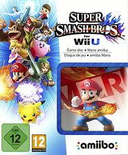 Nintendo WiiU Super Smash Bros. + Mario amiibo NEU & OVP