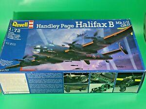 REVELL 04936 1/72 HANDLEY PAGE HALIFAX B MK.III RAF BOMBER AIRCRAFT
