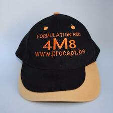 Formulation R&D 4M8 www.Procept.Be Adjustable Black Baseball Cap Hat