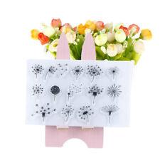 Dandelion Transparent Silicone Stamp DIY scrapbooking/photo album Decorative H&P