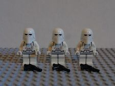 Lego Star Wars lot of 3 snowtroopers - battle of hoth
