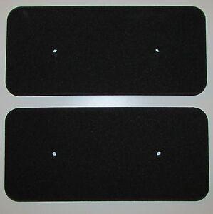 2 Schwammfilter Filter Filtermatte Vlies Trockner Candy Hoover 40006731