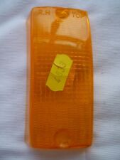 GENUINE ITALIAN MADE VESPA PX AMBER FRONT RIGHT HAND INDICATOR LENS