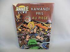 KAMANDI LLEVADO A LA PIEGE ANNEE CERO álbum N°4/1 era DE la CARCASA DAÑADO