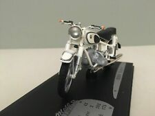 MOTO BIKE BMW R69S 1950 WHITE SOLIDO COLLECTOR 1/18 1:18 BLANCHE BLANC BIANCA