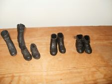 Action Man Accessories - X4 Pairs of Boots and shoes (616)