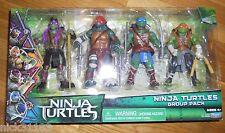 NINJA TURTLES Movie GROUP PACK 4 Figure Set 2014 TMNT RAPH DON LEO MIKE EXCLUSIV