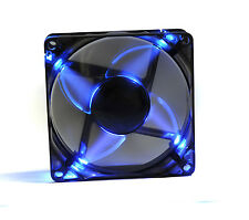 Pccooler F86B 8cm 80mm X 25mm Azul LED 18dBa Ultra Silent Case Fan PC desmontable