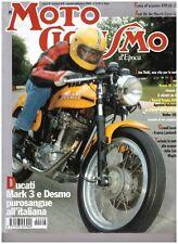 MOTOCICLISMO D'EPOCA 8 2002 DUCATI MARK 3 DESMO - KTM GS 125 - AERMACCHI CIGNO