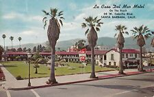 1954 La Casa Del Mar Motel Santa Barbara Castle by the Sea F.R. Braune C.O. Hahn