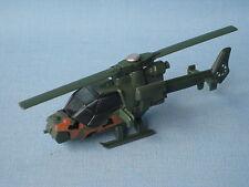 Matchbox misión Chopper Helicóptero Ejército Camo Verde 70mm largo UB