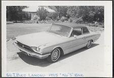 Vintage Car Photo 1966 Thunderbird Town Hardtop Automobile 773833