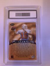 1998 Press Pass Peyton Manning Graded 8.5 Tennessee