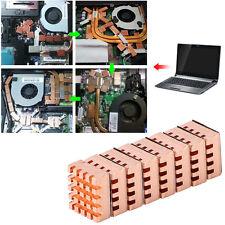 8pcs Copper Heatsink For Motherboard DDR VGA RAM Memory IC Chipset Cooler OB