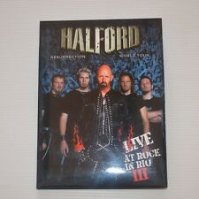 (JUDAS PRIEST) HALFORD - LIVE AT ROCK IN RIO III - 2008 NTSC CD/DVD + BONUS DISC