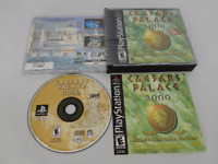 Caesar's Palace 2000 Playstation PS1 Video Game Complete