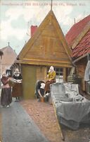 Holland Michigan~Holland Rusk Co~Dainty Delicacy~Dutch Girls Laundry~1908 Adv PC