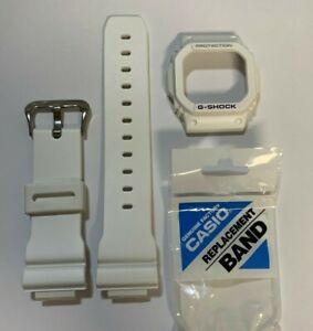 Casio Original G-SHOCK Band G-5600A-7 GW-M5600A-7 Color White  G-5600 And Bezel